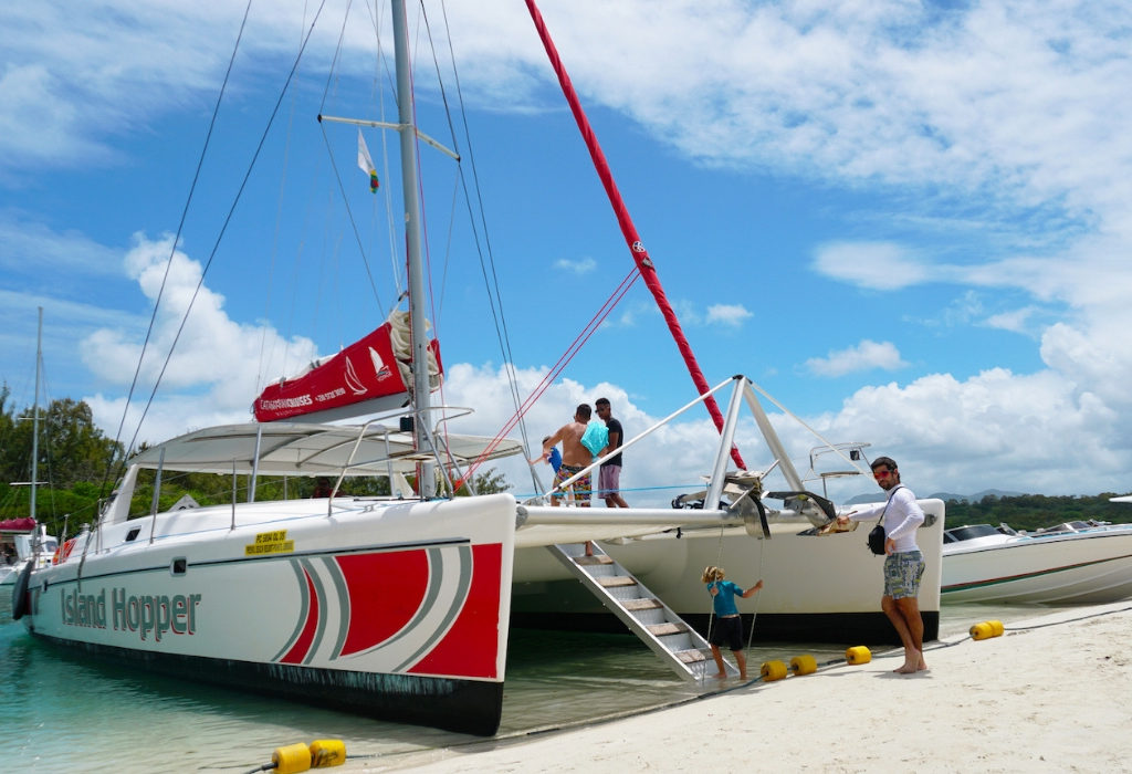 Cataram - excursion ile maurice,catamaran ile maurice