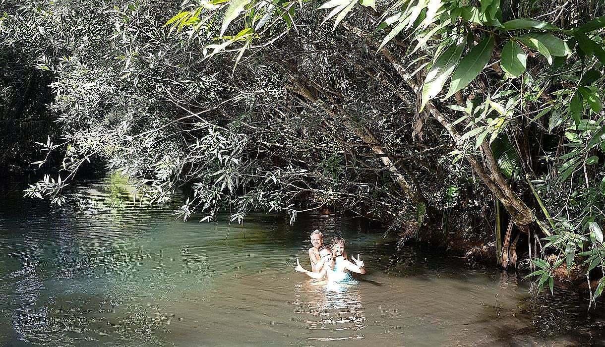 baignade cascade ile maurice