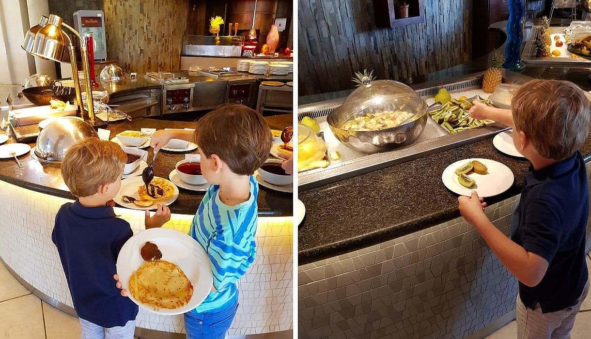 petit déjeuner Victoria Resort & Spa