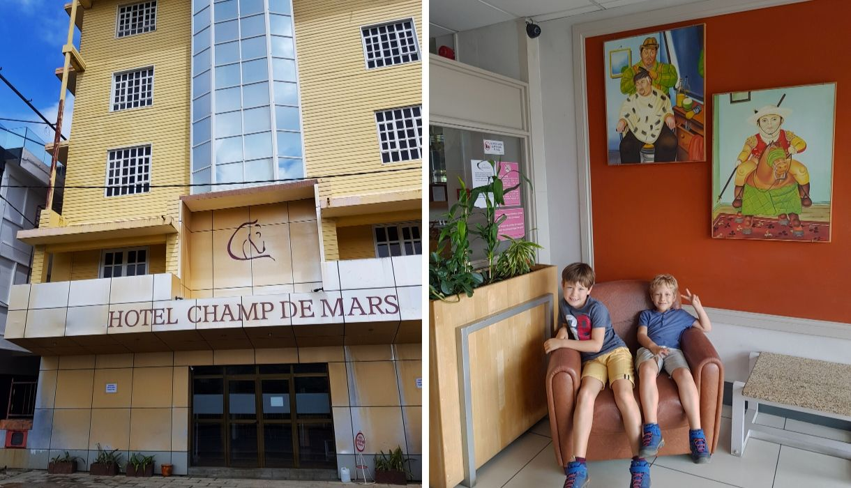hotel champ de mars port louis