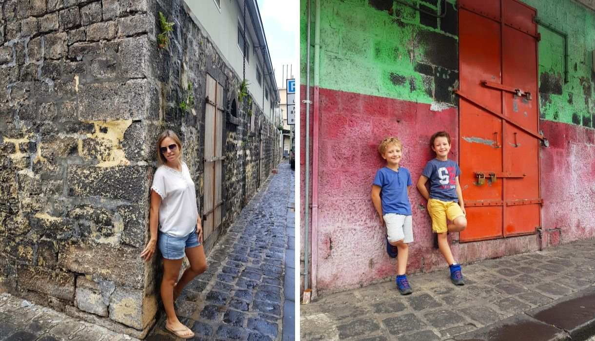 mur couleur port louis