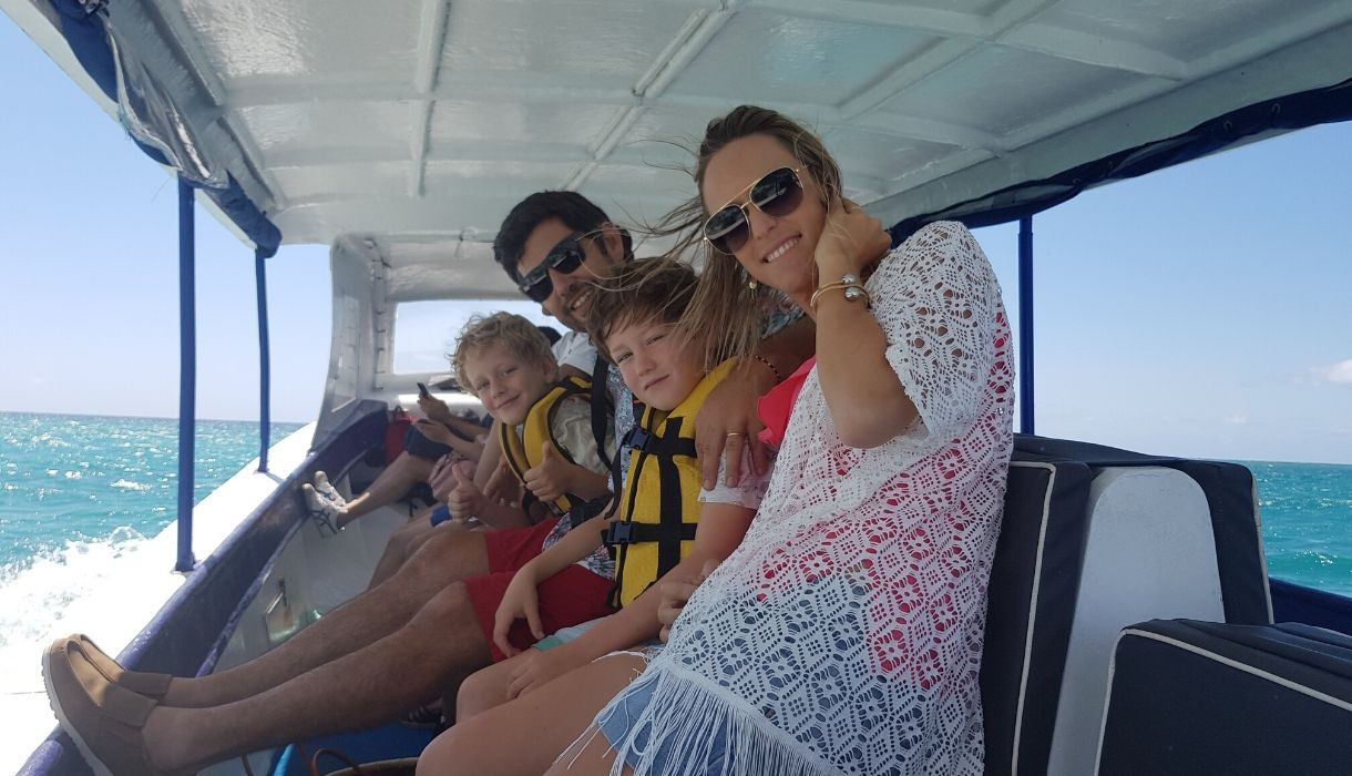 famille blue safari