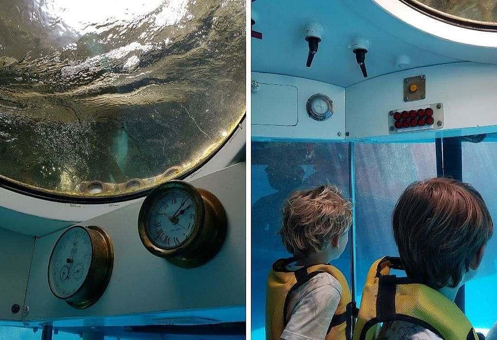 Sortie Sous marin- Excursion avec enfants Maurice