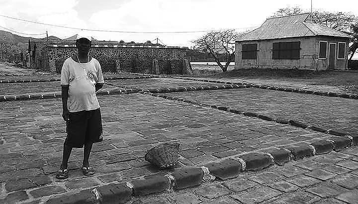 vieilles photos Salines de Riviere-Noire, Ile Maurice