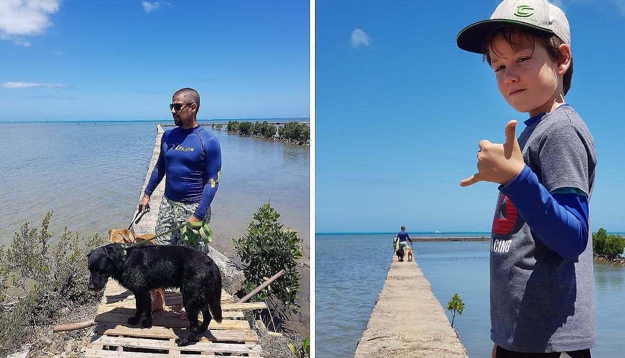 chien Salines de Riviere-Noire, Ile Maurice
