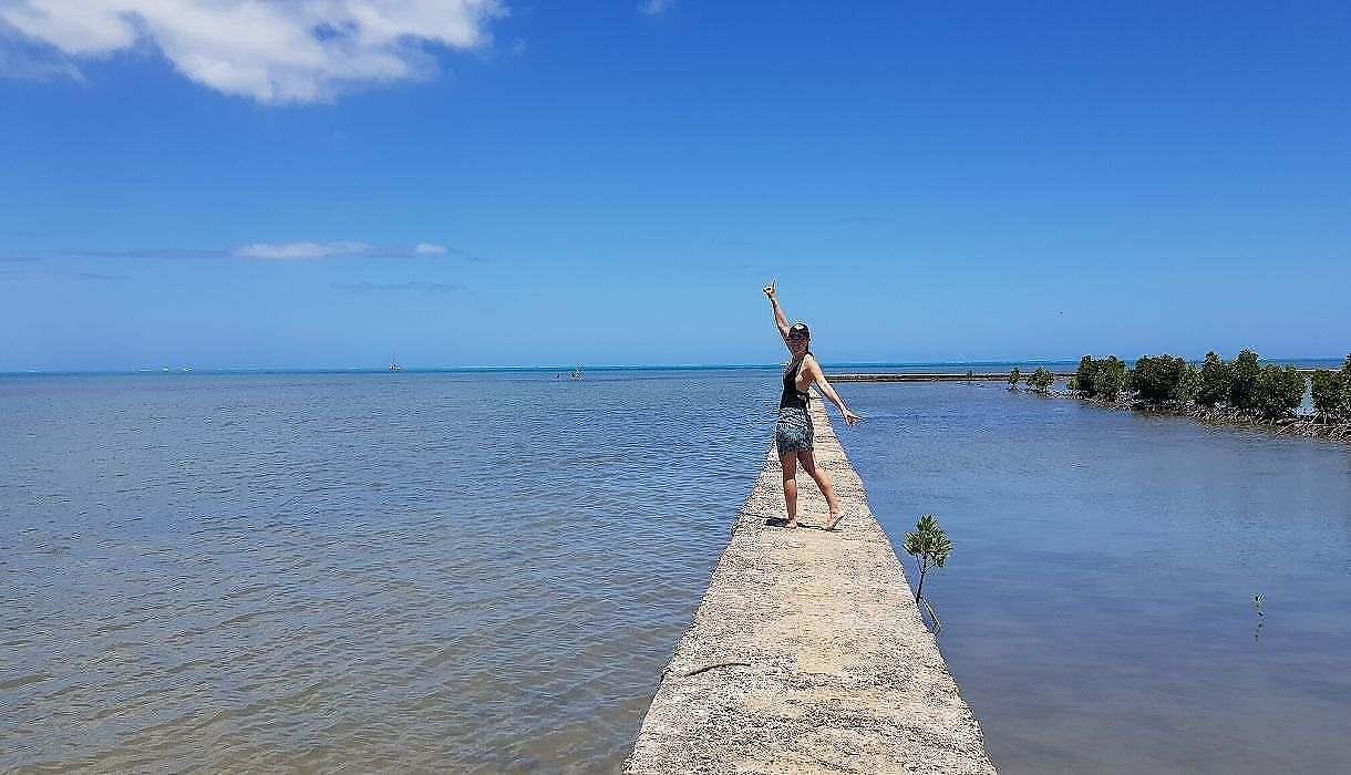 Marche Salines de Riviere-Noire, Ile Maurice