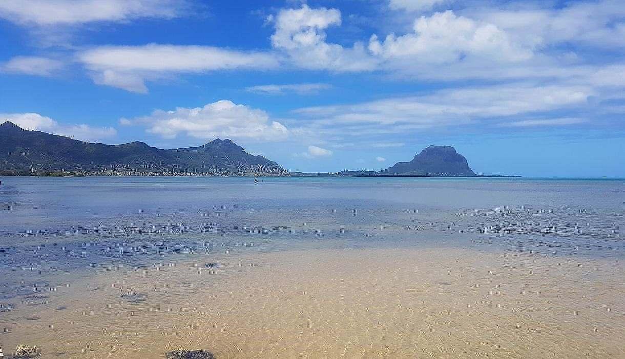 vue magnifique Salines de Riviere-Noire, Ile Maurice