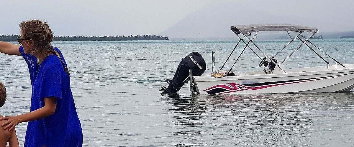 excursion en bateau rivière noire - excursion famille ile maurice