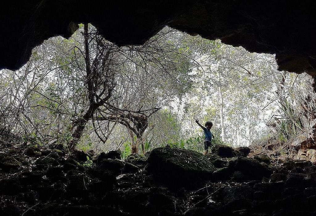 caverne Nord-Est ile Maurice