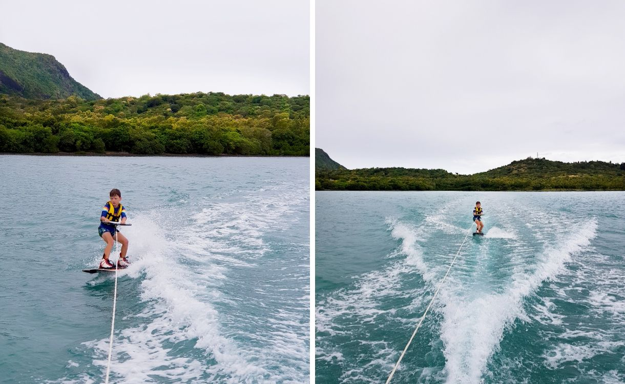 initiation au wake board ile maurice