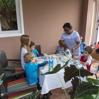 dejeune en famille ile maurice